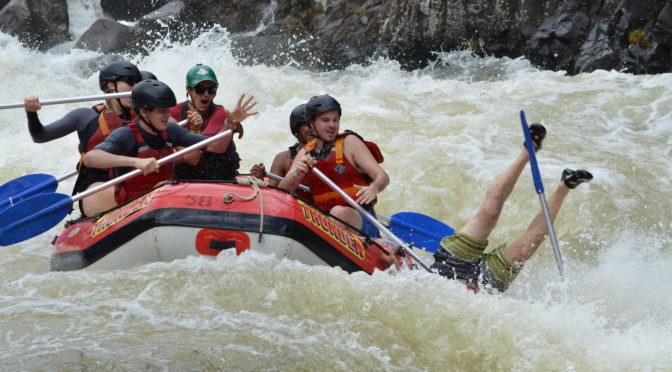 Raging Thunder: White Water Rafting